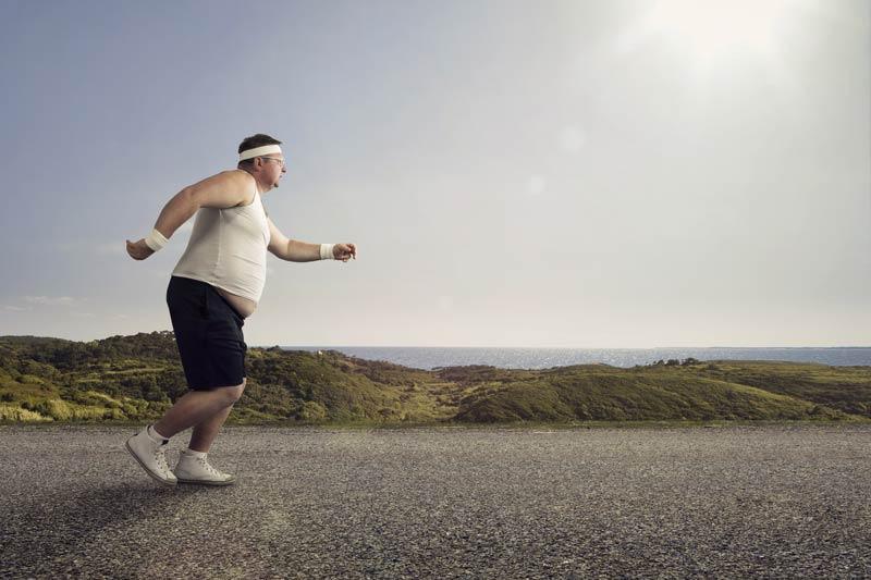 Skidanje kilograma hodanjem